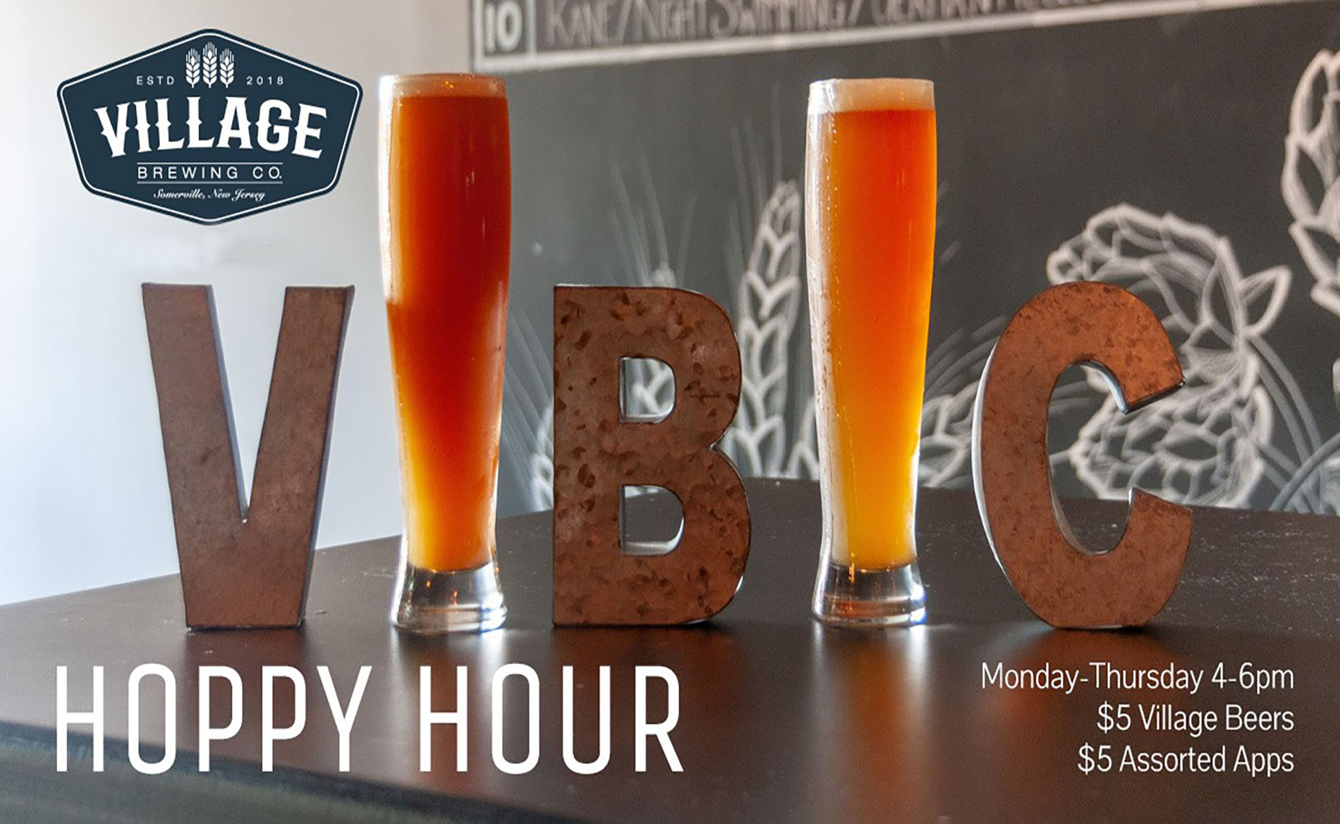 Happy Hour at Village Brewing